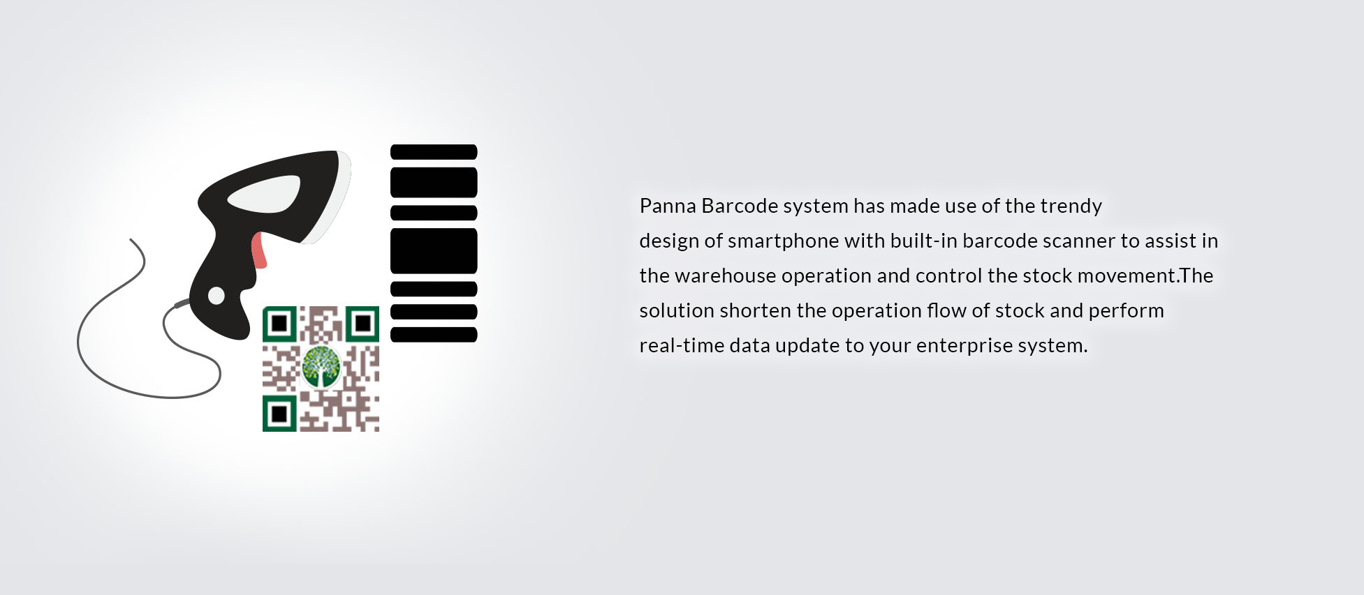 Panna Barcode system has made use of the trendy 
